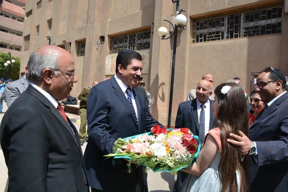 صورة مرزوق والفيومي يشهدان احتفالية عيد اليتيم بمدرسة طوخ الخاصة