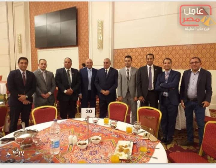 صورة الإفطار الجماعى لحزب حماة وطن