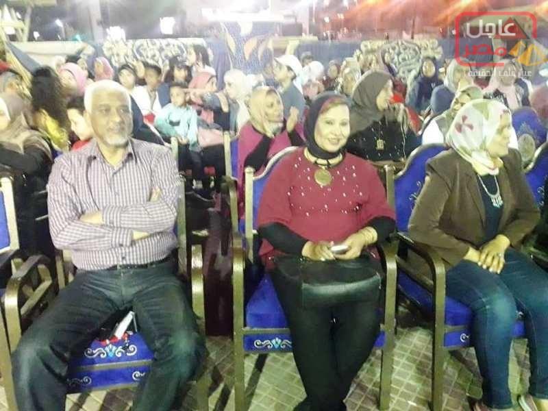 صورة التنورة و الفلكلور السكندري في افتتاح ليالي رمضان بسرادق الشاطبي