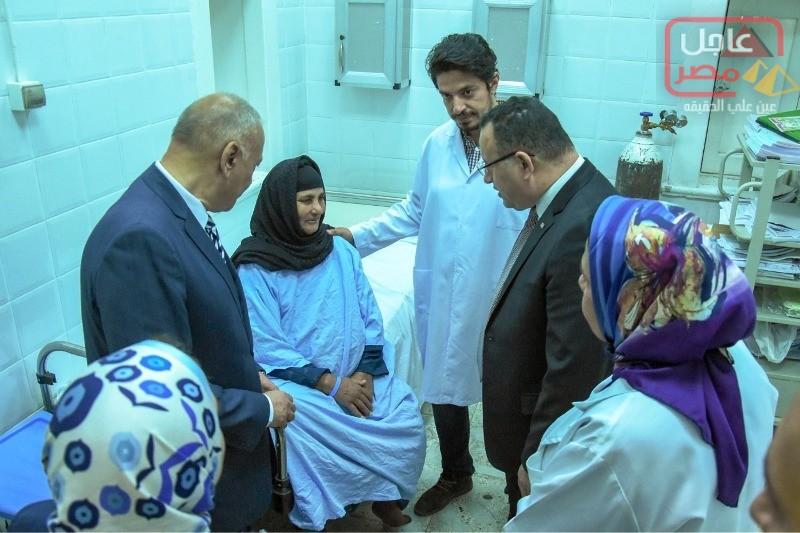 Photo of محافظ الإسكندرية يشدد على ضرورة البدء في أعمال تطوير وحدة الجهاز الهضمي والمناظير بالمستشفى ،