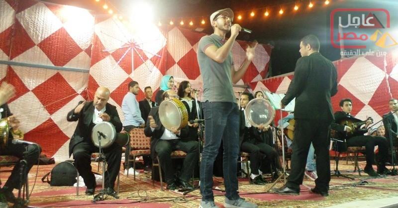 صورة بالصور ….نجوم برج العرب يتألقون ضمن فرقة أبوقير للموسيقى العربية فى ليالى رمضان الثقافية