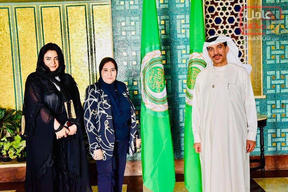 """صورة هند جاد رئيسة مؤسسة بيت العرب تشهدإطلاق """"جائزة التميز الحكومي العربي"""""""
