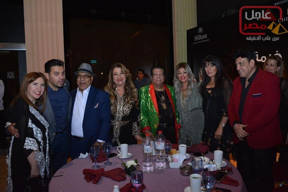 صورة بالصور نجوم الفن والمجتمع يجتمعون علي مائدة سحور