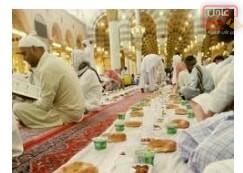 صورة ١٣_مظاهر رمضانية _رمضان في المدينة المنورة