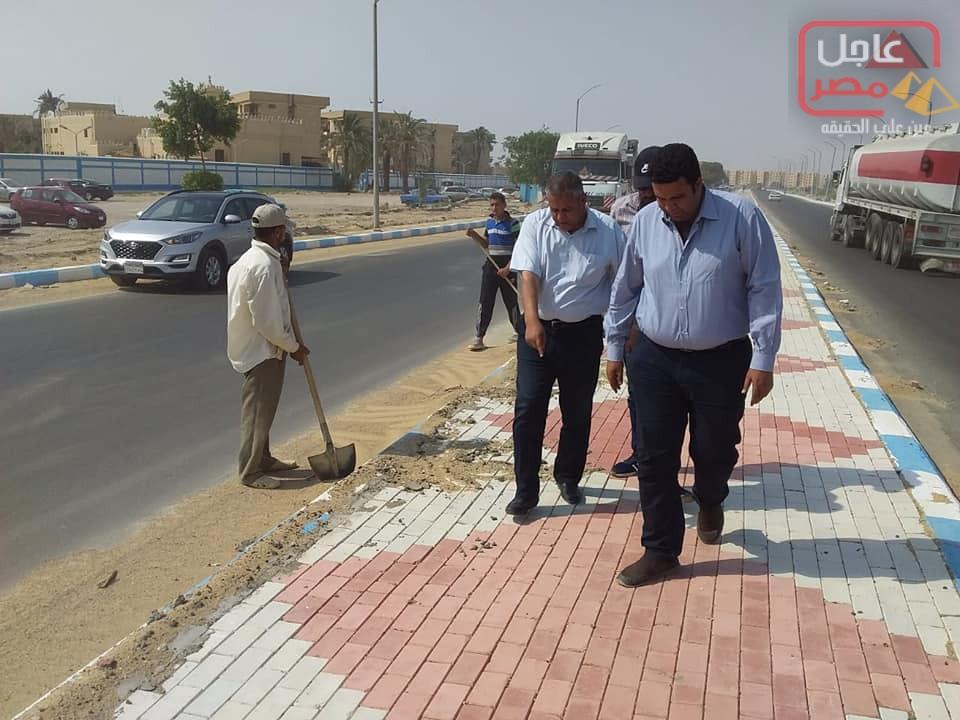 Photo of أعمال تطوير طريق الادبية تجرى على قدم وساق.