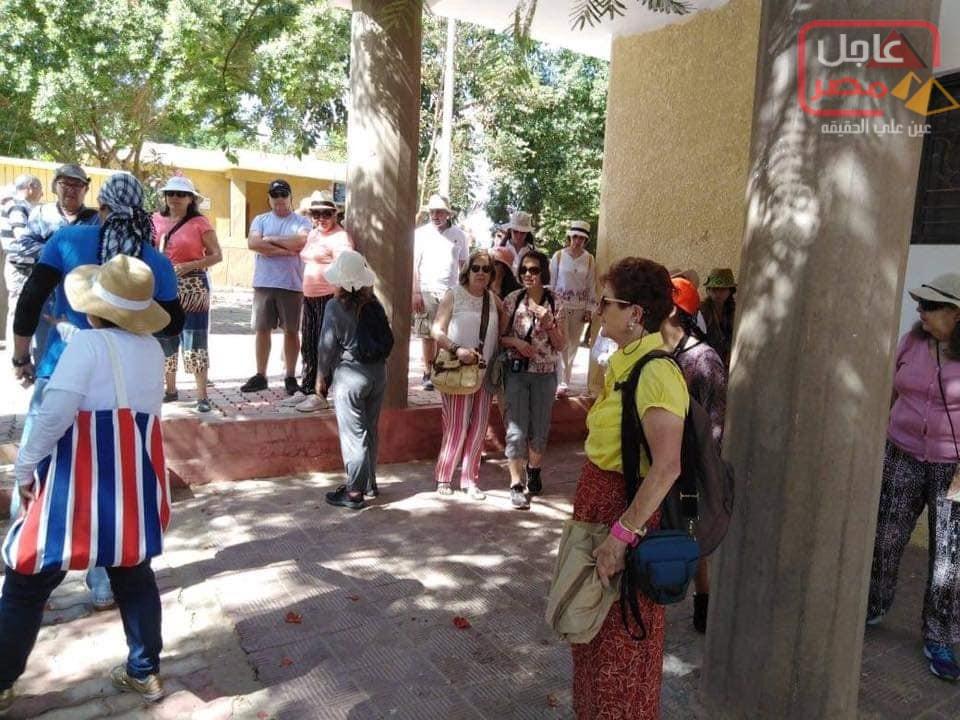 Photo of وفود سياحية لزيارة معالم المنيا الاثارية