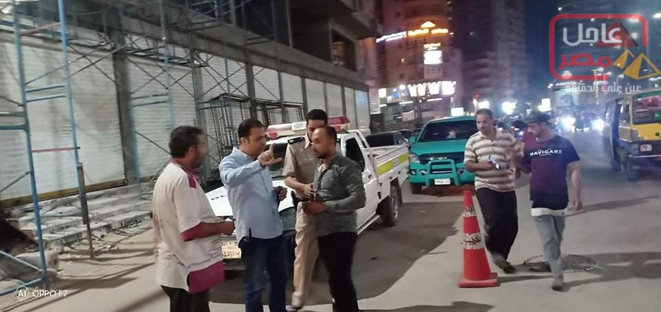 Photo of مباحث مرور المحله تشن حمله مكبره للحد من ظاهرة تجزئة خطوط السير بالمدينه