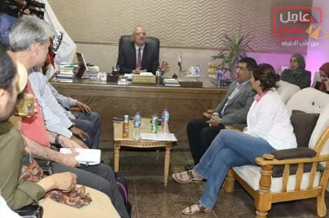 "Photo of وفد الصندوق الدولي للتنمية الزراعية ""IFAD"" يصل الى محافظة سوهاج"