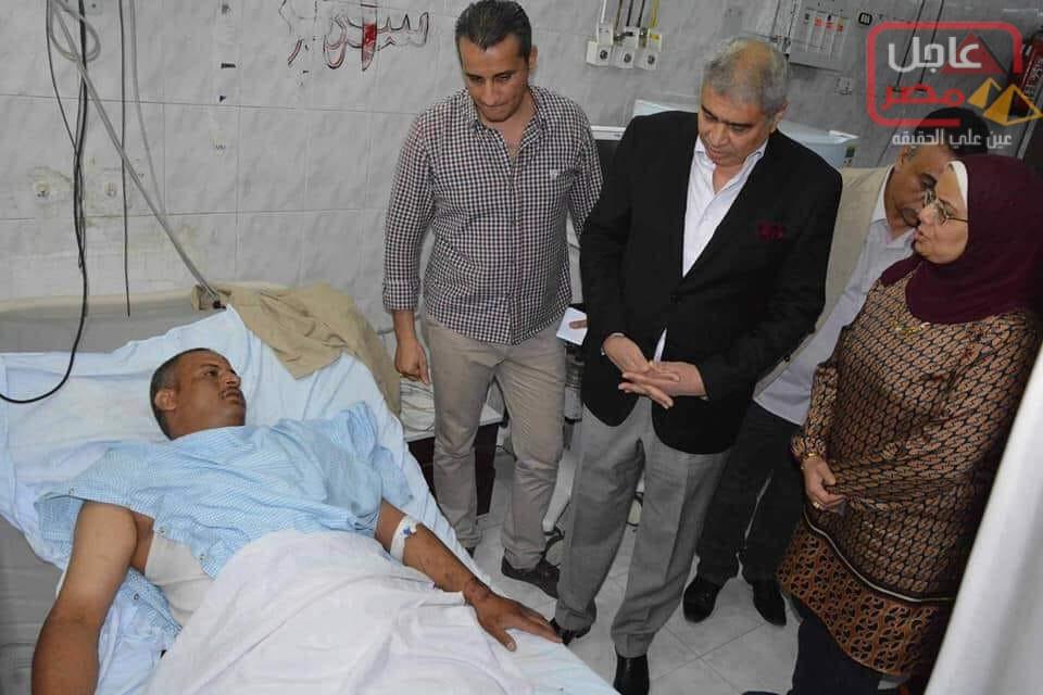 """Photo of حادث بطريق الجيش لقوات أمن المنيا """"الصحراوي الشرقي"""""""