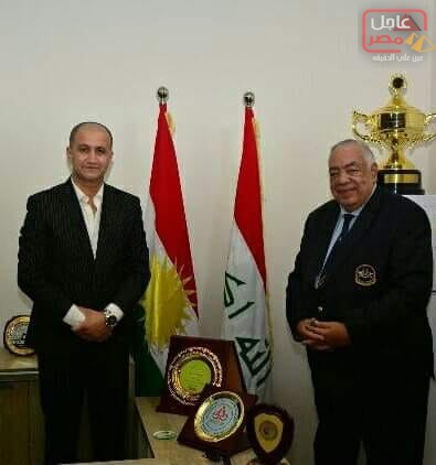 "Photo of ""فهيم ""يرشح العراق لتنظيم بطولة العالم لكمال الأجسام"