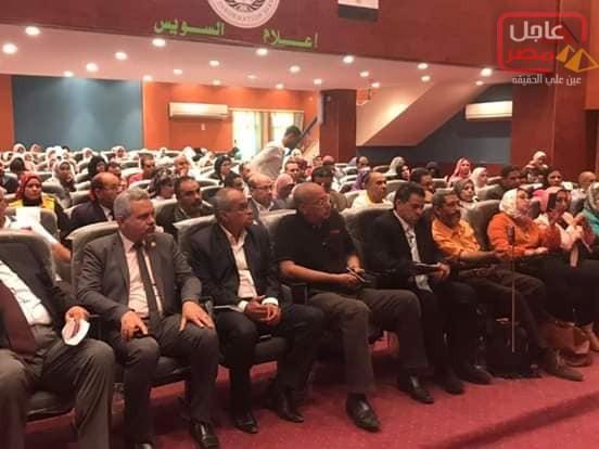 Photo of وفد من بيت العائلة بالسويس يترأسه المنسق العام فى المؤتمر العام لخبراء التدريب