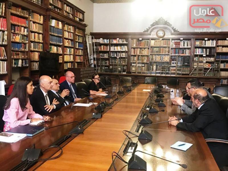 Photo of فى مستهل زيارته لإيطاليا الدكتور عبدالعزيز قنصوة محافظ الاسكندرية يلتقى وزير الثقافة الإيطالي ألبيرتو بونيسولي