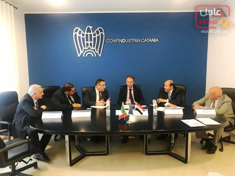 Photo of محافظ الاسكندرية خلال زيارته لإيطاليا – يلتقى رئيس اتحاد الصناعات بمدينة كاتانيا