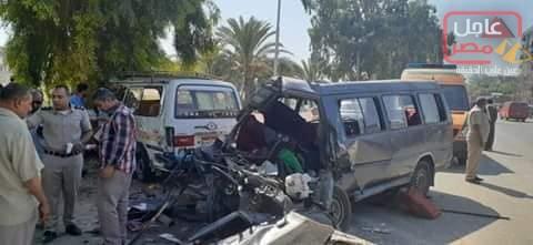 Photo of حادث أليم بكوبري منقباد اسيوط