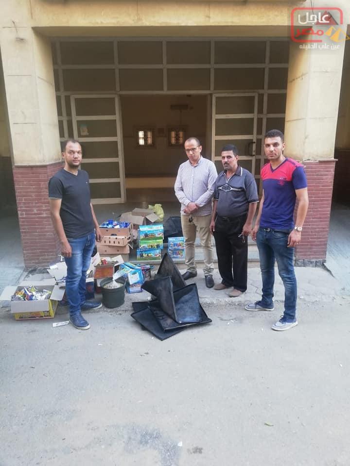 Photo of حملات مكثفه لمكتب مراقبه الأغذية باخميم علي أماكن عرض وتداول الأغذية