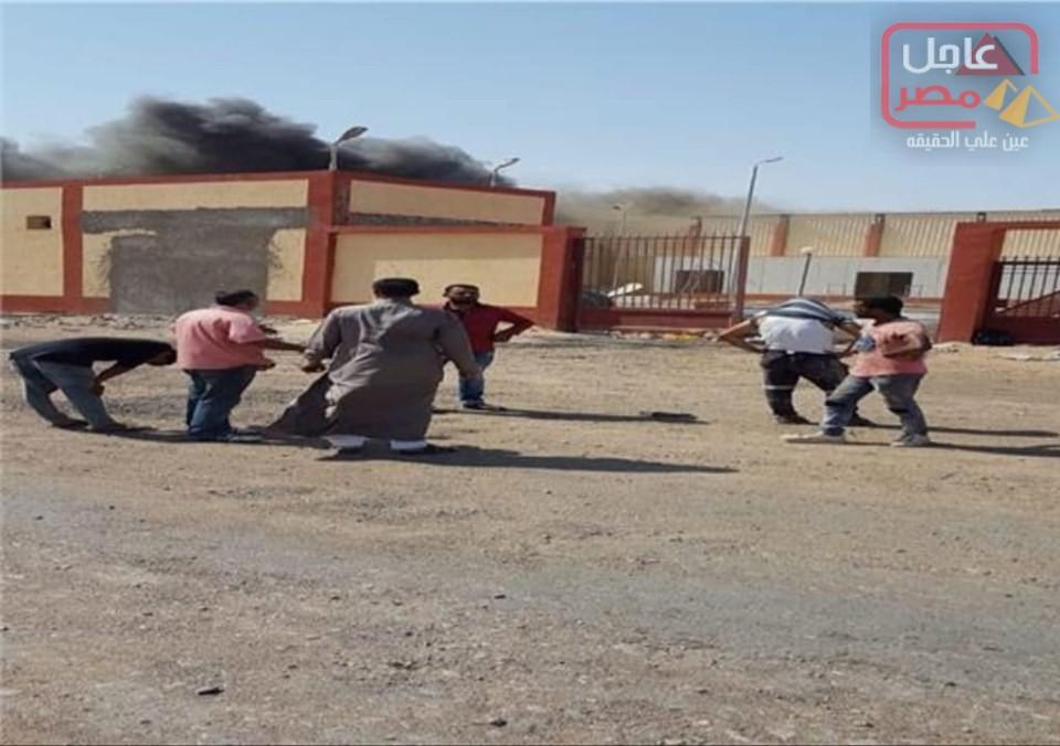 Photo of #عاجلتتابع أحداث حريق المجزر الآلي بمدينة شلاتين جنوب البحر الاحمر