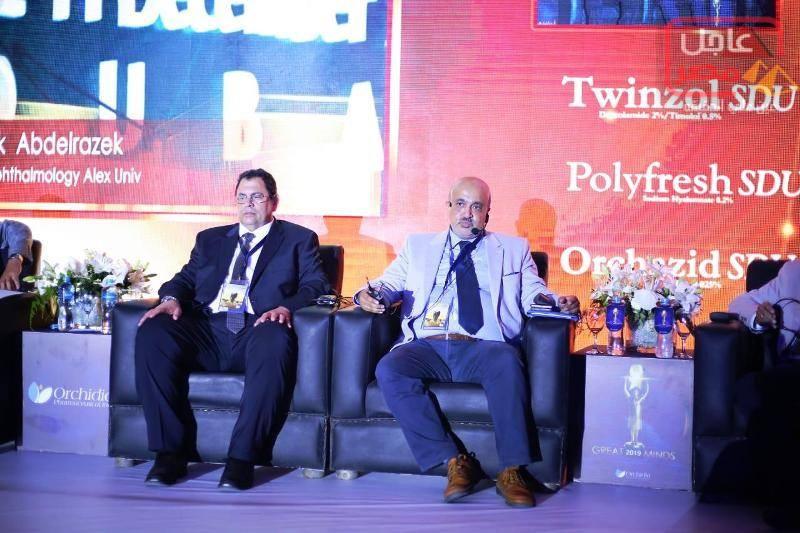 Photo of بحضور كبار اساتذة طب الرمد بالاسكندرية