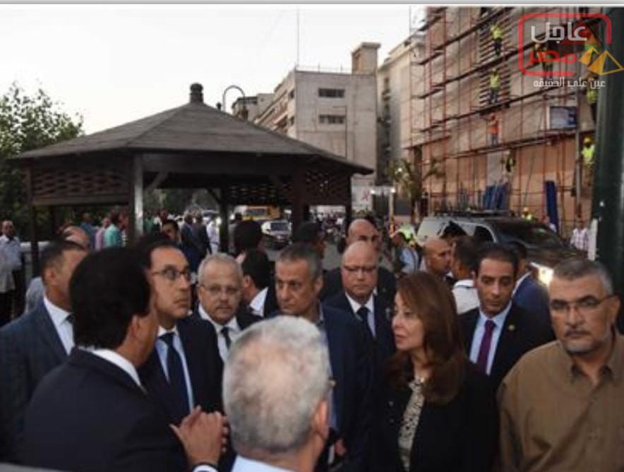 صورة وزيرة التضامن تعلن تفاصيل تعويضات ضحايا حادث معهد الأورام