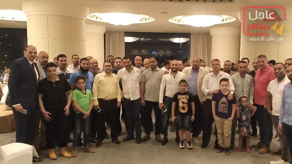 صورة المهندس عمرو السباعي رئيس مجلس ادارة شركة بلو للدهانات يهني العاملين بالشركة بحلول عيد الاضحي المبارك