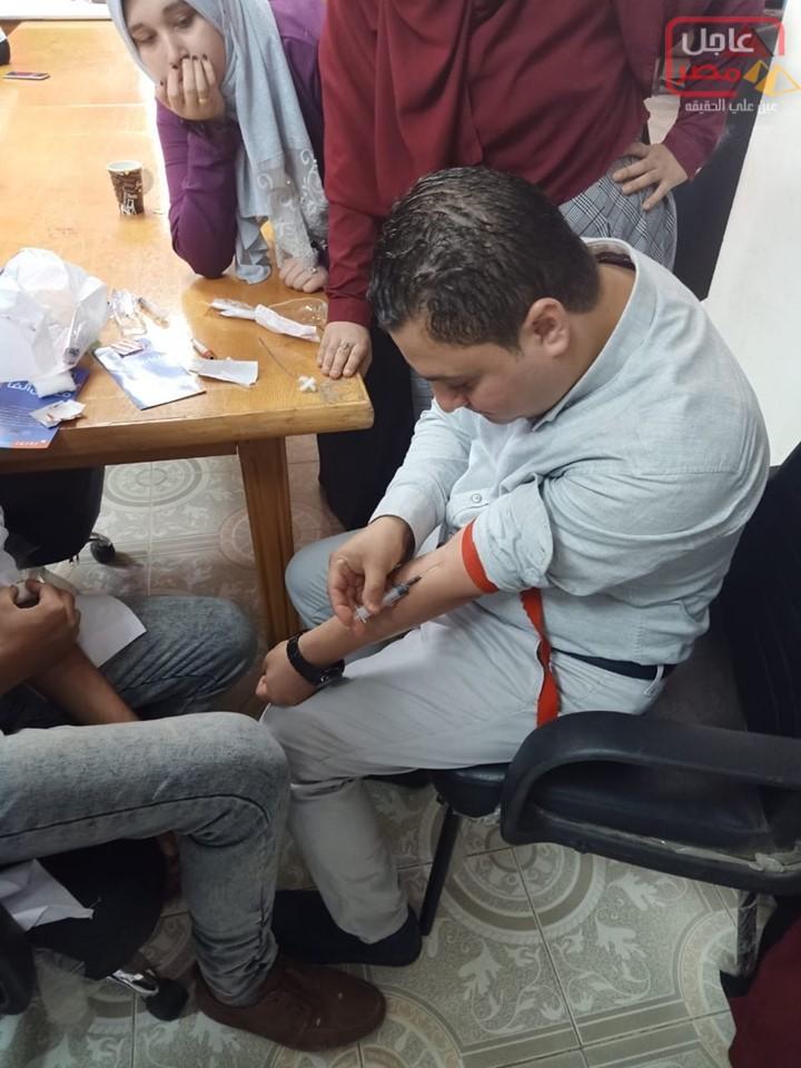 Photo of دكتور ابراهيم عبد الودود ينهي فاعليات اليوم الاول لدورة التحاليل الطبية