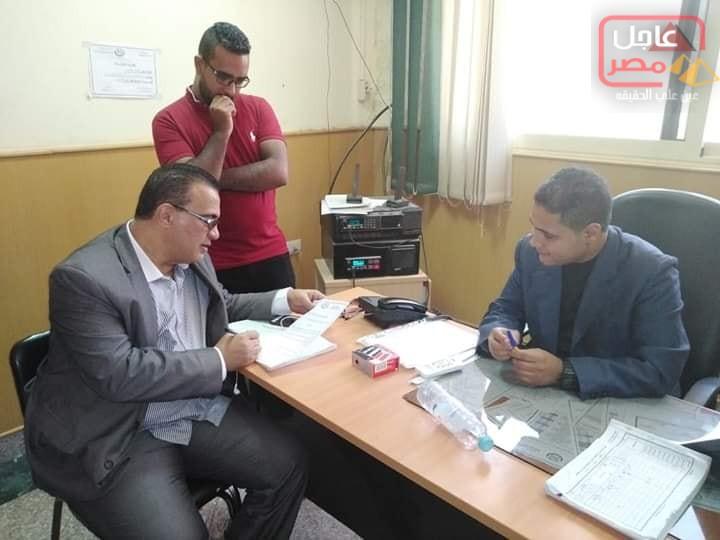 صورة مرور وكيل الوزاره اليوم أول أيام عيد الاضحى المبارك علي غرفه الطوارئ بالمديريه