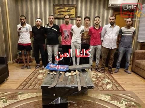 صورة الاسكندرية : ضبط بلطجية بعد انتشار فيديو لهم على مواقع التواصل بالإسكندرية