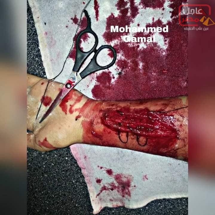 """صورة """"أبو السعود أبن بنها يحول الرعب إلى مكياج"""""""