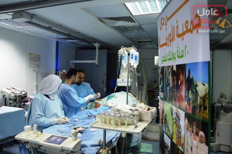 "Photo of لتوفير ""حياة كريمة"" (3) قوافل علاجية من جمعيةالأورمان لأهالى محافظة البحيرة"