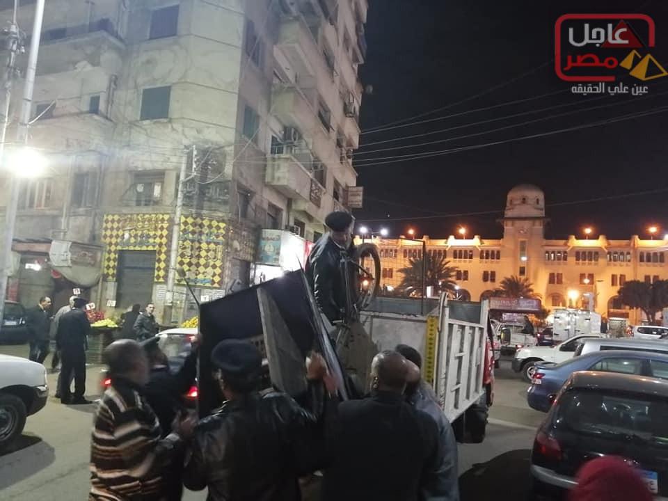 Photo of مدير أمن الغربية وحملة مكبرة ورفع 279 حالة أشغال