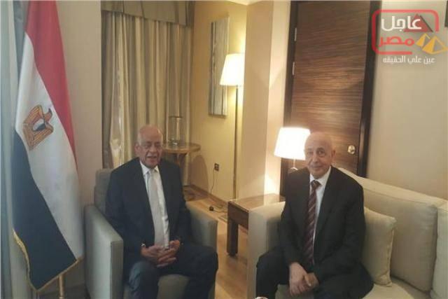 Photo of على عبد العال يلتقى رئيس مجلس النواب الليبى