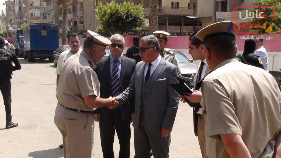 Photo of نائب مدير أمن المنوفية يتفقد الخدمات الأمنية بمركز شرطة السادات