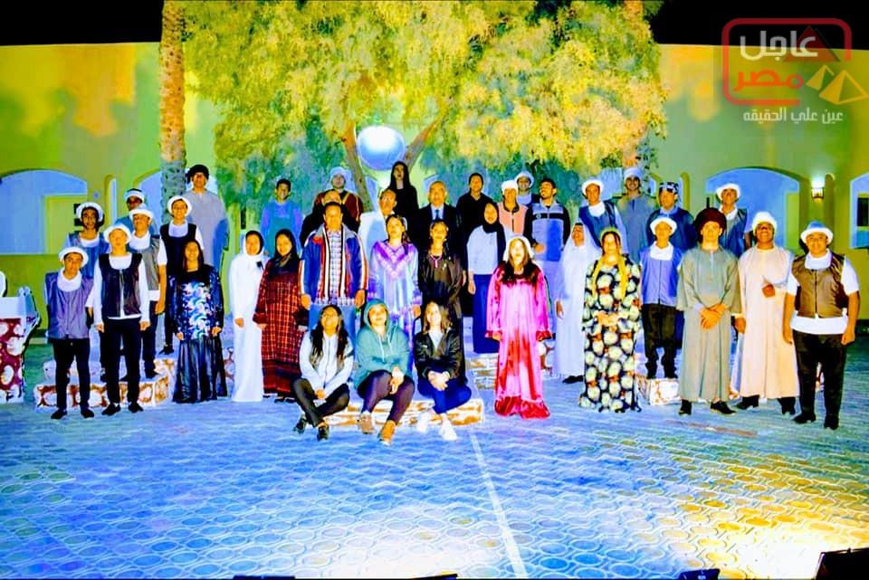 Photo of لأول مرة عرض مدرسي يشارك في مهرجان للمحترفين