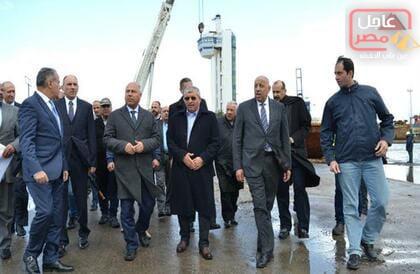 صورة بتكلفة 5 مليارات جنيه.. توقيع عقد إنشاء محطة متعددة الأغراض بميناء الإسكندرية