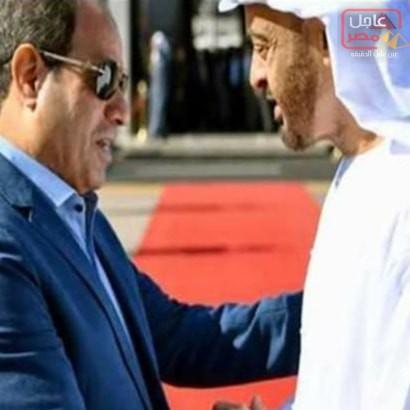 Photo of السيسي يودع ولي عهد أبوظبي بمطار شرم الشيخ
