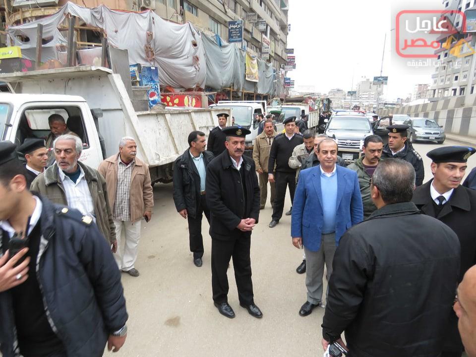 Photo of مدير أمن الغربية يقود حملة مرافق مكبرة ورفع 140حالة أشغال بالمحلة الكبرى