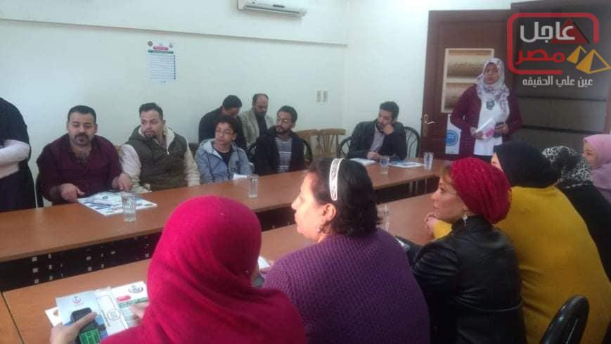 Photo of عاجل مصر الاخبارية بحي جنوب الجيزة لنقل الندوة التثقيفية للتوعية الصحية .