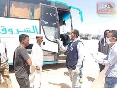 Photo of فحص حراري في كمين السباعية الصحراوي شمال محافظة أسوان