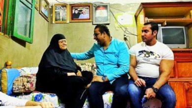 Photo of زيارة لمنزل الشهيد محمود رجب من مجلس الشباب المصرى بالغربية شهيد ملحمة البرث