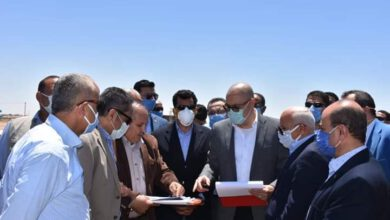 Photo of *وزيرا الرياضة والإسكان يتفقدان أرض إنشاء مدينة رياضية وإستاد بمدينة بورسعيد الجديدة