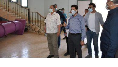 Photo of بالصور.. زيارة وزير الشباب والرياضة لمركز شباب الجزيرة2