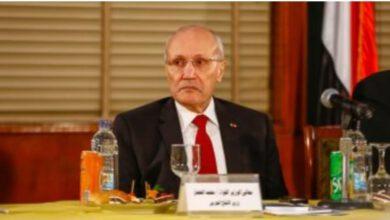 صورة عزاء واجب : جامعة عين شمس تنعي الفريق العصار لوفاته