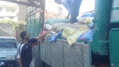 Photo of تموين الغربية ضبط سيارة نقل محملة ب 6.5 طن قمح فاسد
