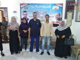 صورة إنضمام أعضاء جدد بالاقصر للحملة المصرية للاعلام السياسى نعم هنبنيها