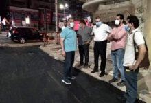 Photo of إعادة رصف 8 شوارع بحى ثان طنطا على حساب المقاولين