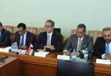 Photo of وزير السياحة والآثار يلتقى مع وزير الرياضة والسياحة البيلاروسي
