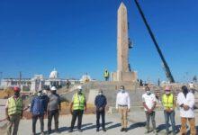Photo of وزير السياحة والآثار يتفقد مسلة الملك رمسيس الثاني التي تم نقلها إلى مدينة العلمين الجديدة
