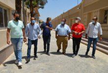 Photo of نائب رئيس جامعة عين شمس يتفقد المقر الجديد لمكتب التنسيق المركزى لوزارة التعليم العالي