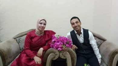 """صورة الإعلامي """" محمود الهندي """" .. يهنئ الزميلة داليا عادل لخطوبة شقيقها """" محمد """""""