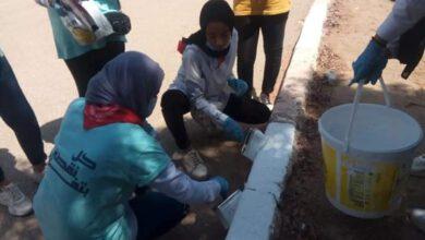 صورة فعاليات حملة توعية مياه الشرب باسوان بمنطقة كيما في يومها الثاني