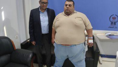صورة عقب قرار الرئيس السيسى بعلاجه على نفقة الدولة .. خضوع المريض لخطة علاجية مطولة